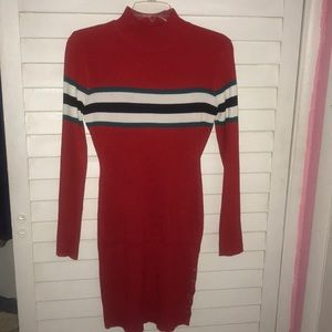 Dresses & Skirts - Size one size fits all red striped dress